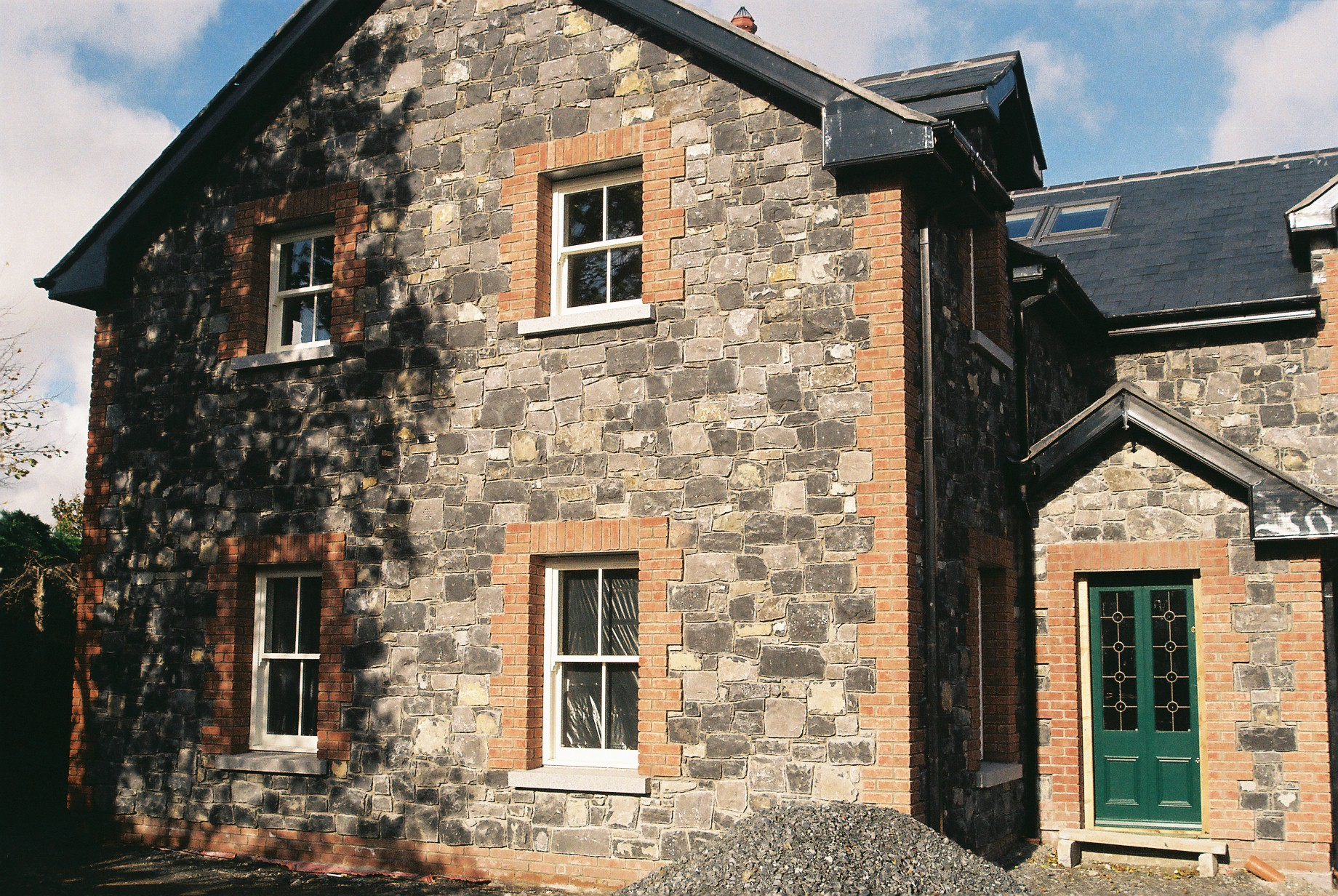 Brick and stone house Dublin