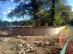 Lime mortar wall (wicklow)