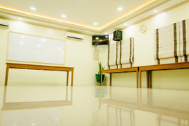 """""""Function Room"""" Fits up to 30 pax. A/C, Projector, Sound equipment included."""