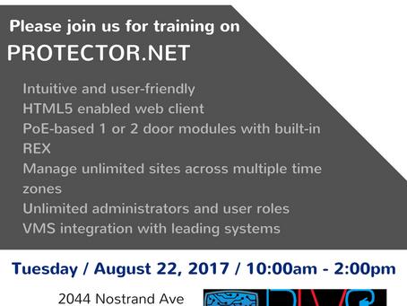 August 22 - Hartmann Protector.Net Training
