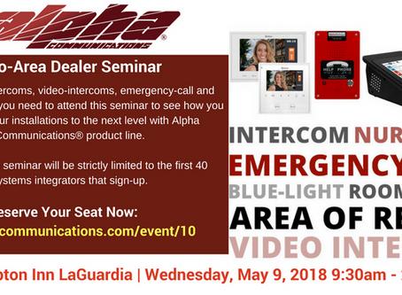 Alpha's Metro-Area Dealer Seminar