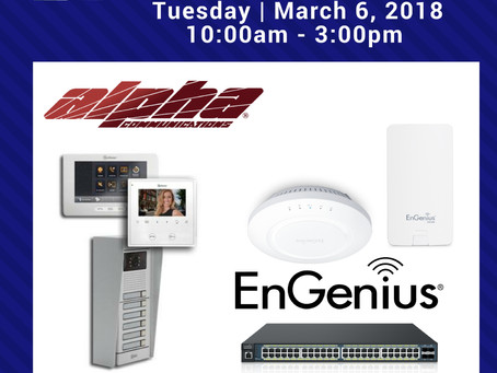 March 6 - Alpha and EnGenius Counter Day