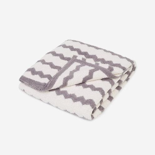 Cozy Chevron Blanket H003