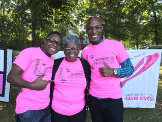 Madsen Coridon and Daniel Trust attend the Witness Project of Connecticut 2017 Breast Cancer 4K Run/