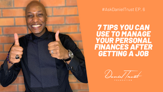 7 Tips You Can Use To Manage Your Personal Finances After Getting A Job