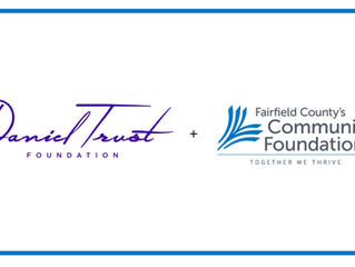 Daniel Trust Foundation receives a $10,000 grant from Fairfield County's Community Foundation