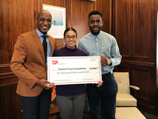 TJX and The TJX Foundation have awarded a $10,000 grant to Daniel Trust Foundation for the 2nd year
