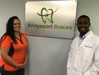 Dr. Tremane Bartley and his team at Bridgeport Braces have made a very big investment in Daniel Trus