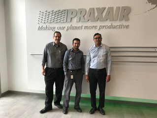 3 Praxair employees have helped Daniel Trust Foundation analyze data from its 15-week SAT Prep Progr