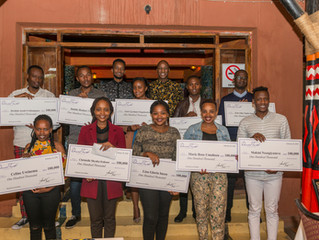 Daniel Trust Foundation has awarded 1 million Rwandan Francs to 10 young entrepreneurs in Rwanda