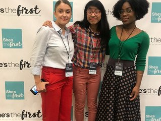 The Daniel Trust Foundation Leadership Team attends the She's the First Summit at NYU School of