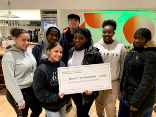 Near & Far Aid has awarded Daniel Trust Foundation a $6,000 grant to support its Mentoring Progr