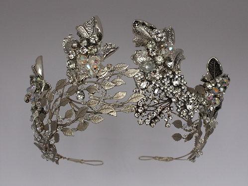 Royal silver tiara