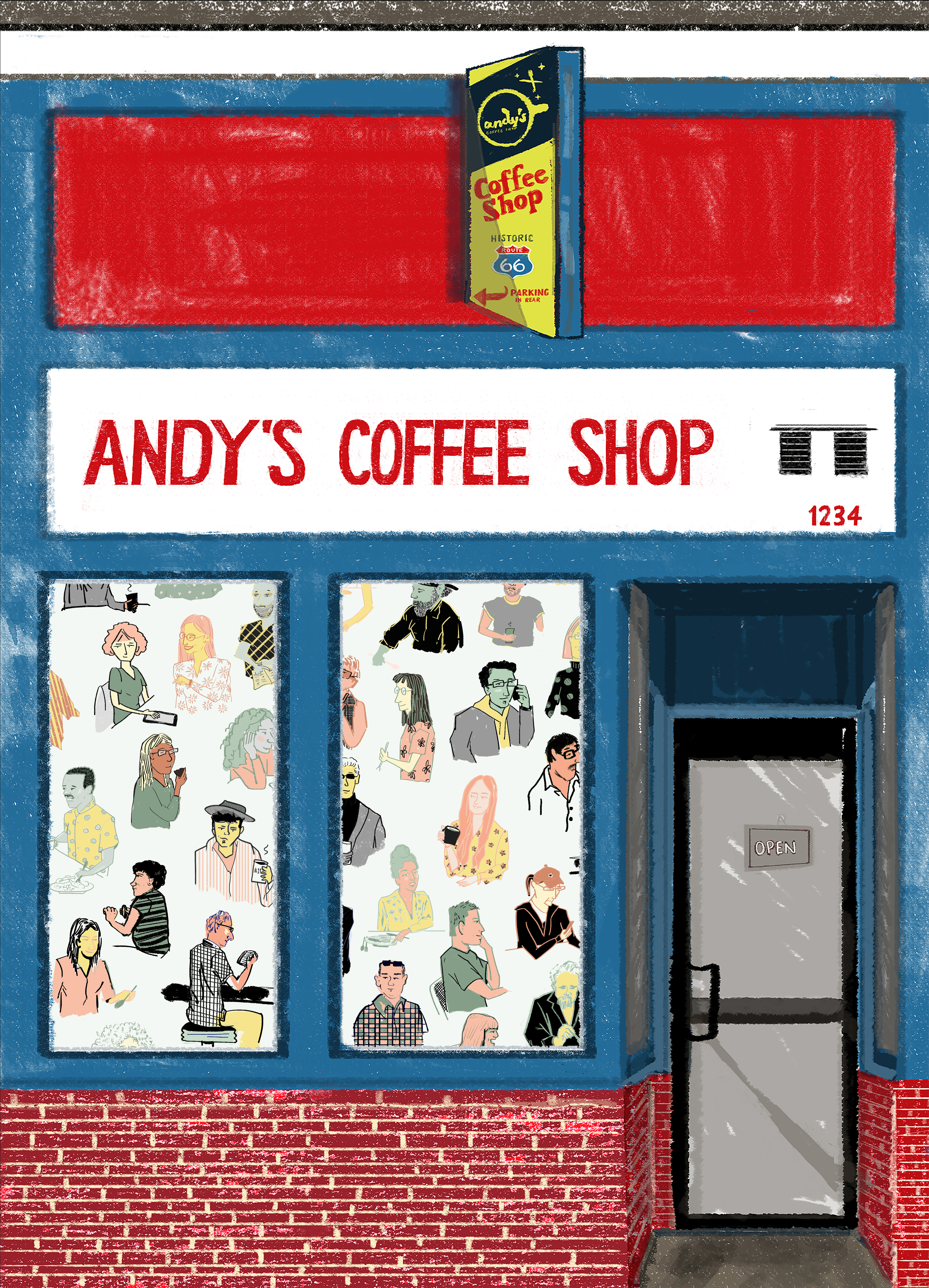 andy's front entrance
