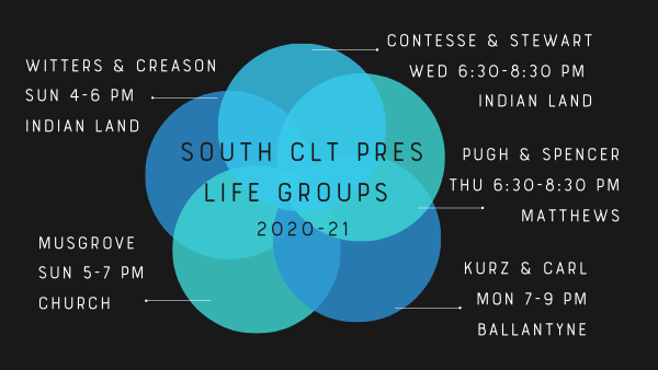 Life Groups 2020-21