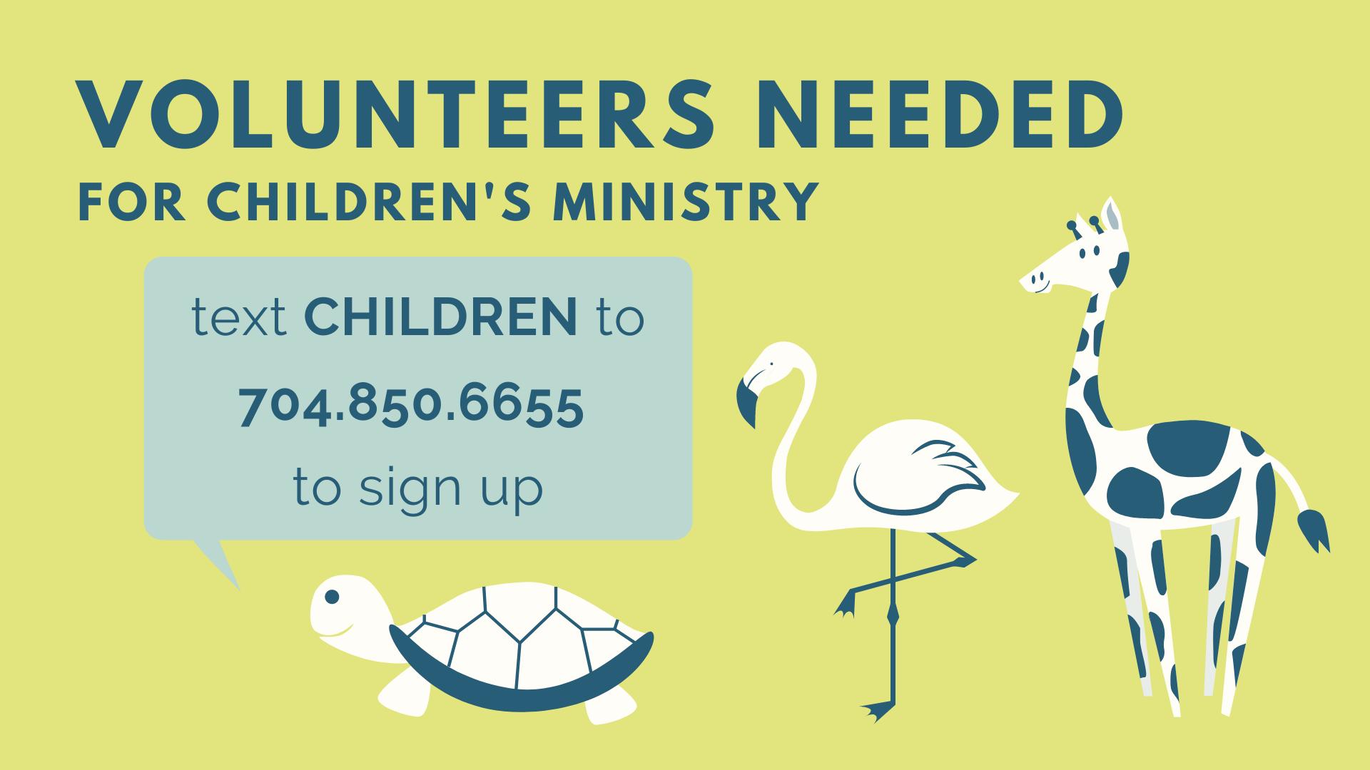 Volunteer Childcare