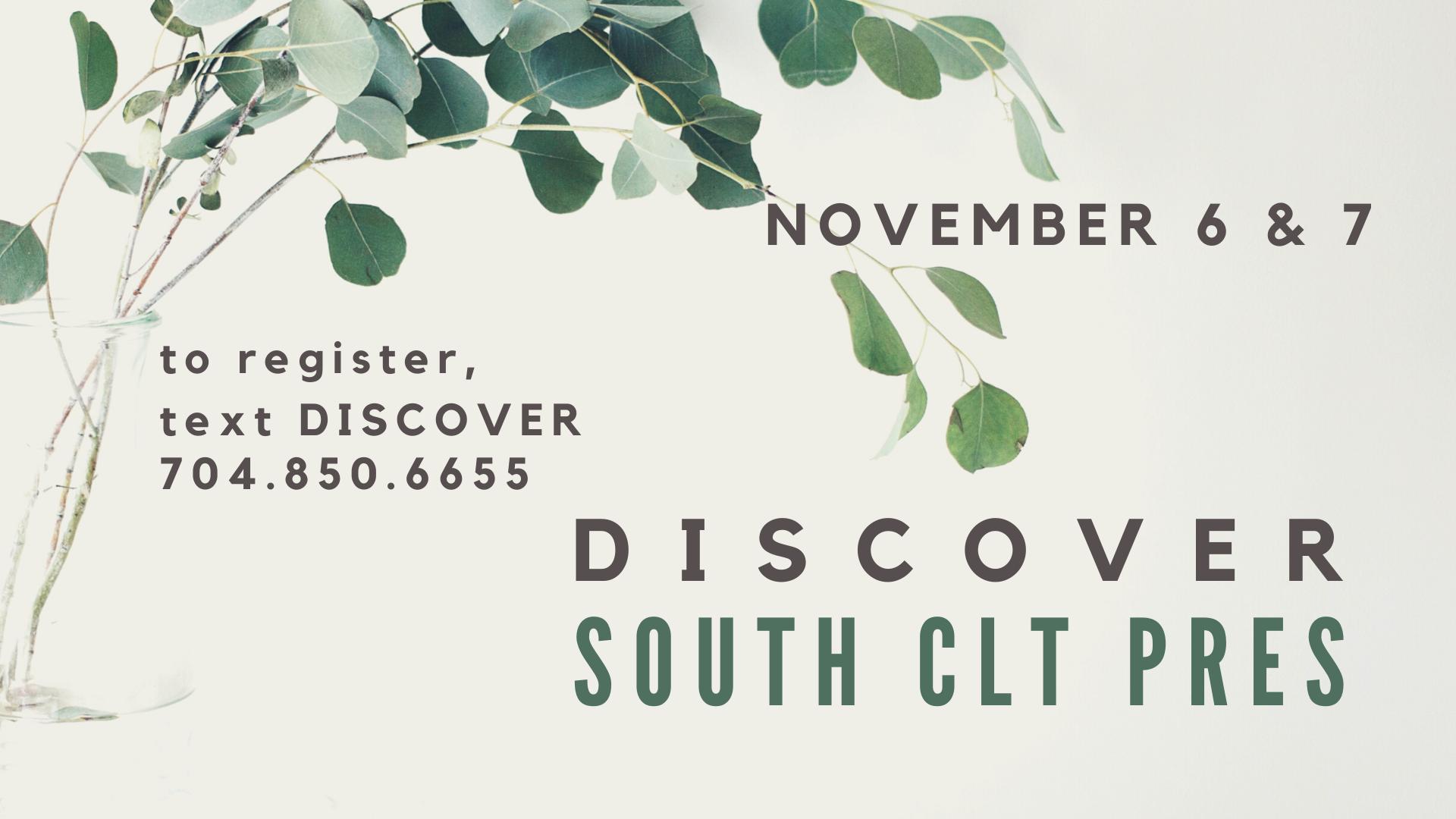 Discover South CLT Pres (slide)