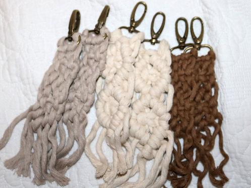 Macrame Key Chains