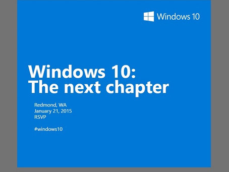 8 Things we are expecting from the Windows 10 event.