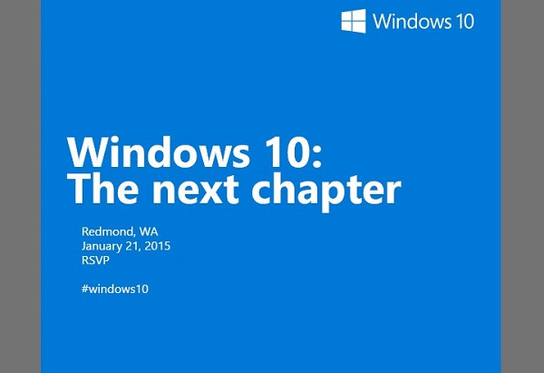 Microsoft Confirms January Windows 10 Event - Xbox, Windows Phone and more expected