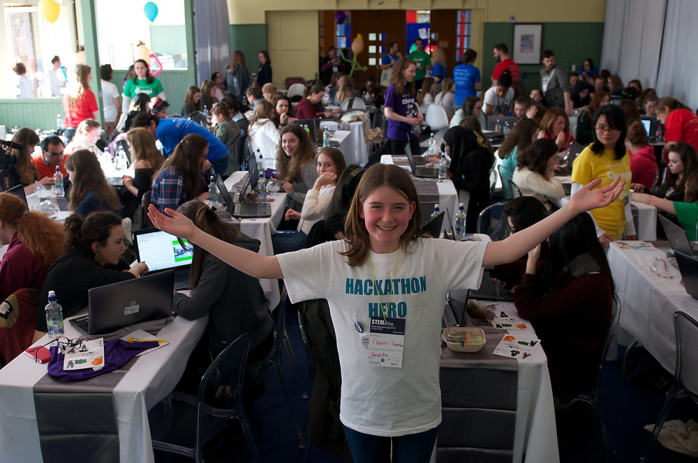 Hackathon Hero - one among many that attended events in the last two years