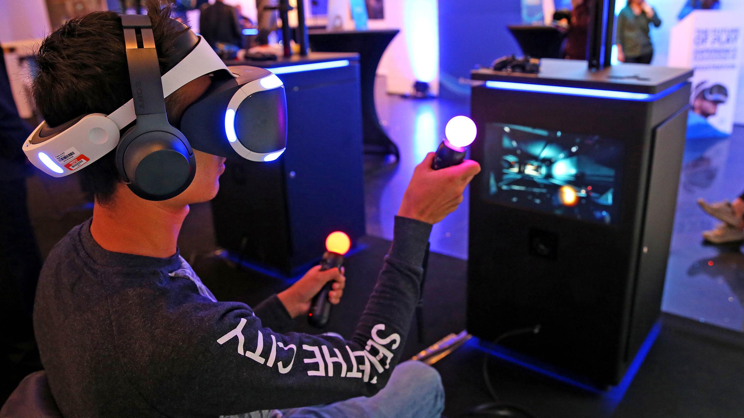 PlayStation VR pop-up in Dublin