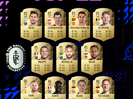 FIFA 22 Top Rated Players announced by EA Sports