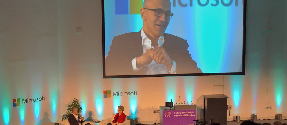 Microsoft CEO Discusses Vision for Education and Technology at New DCU Institute of Education