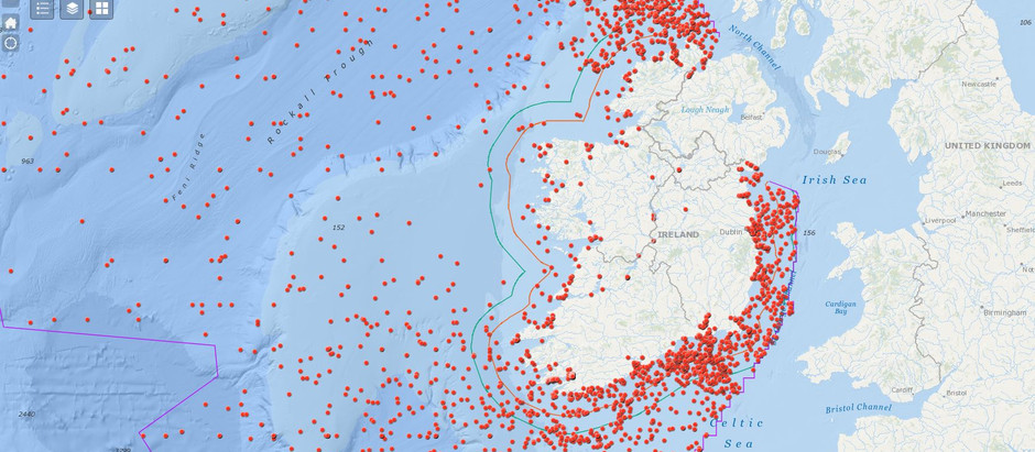 Historic Shipwreck Data Published on new Interactive Map