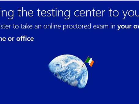 Microsoft Certification exams available online as Beta, now available in Ireland