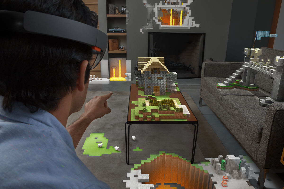 Hololens - Minecraft in your home