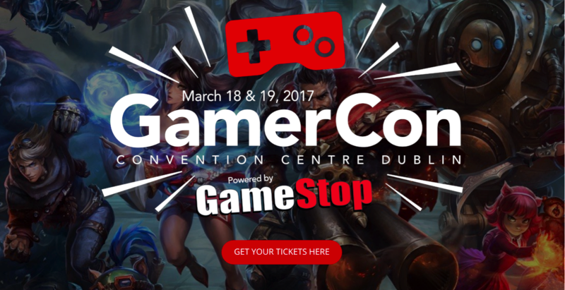 Omens are good for GamerCon as HP announced as headline sponsor.
