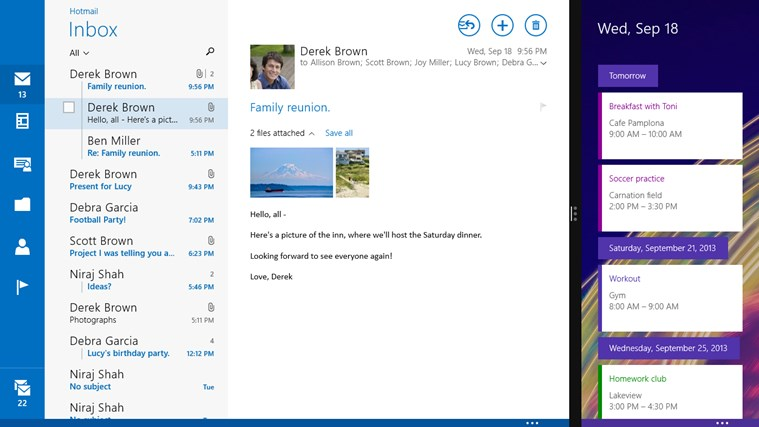 How to get Mail working in Windows 10 Technical Preview