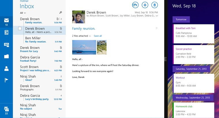 How to get Mail working in Windows 10 Technical Preview Build 10049