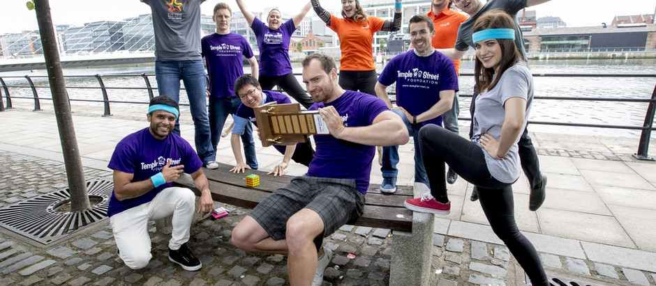 Techies for Temple Street hits Dublin streets this week