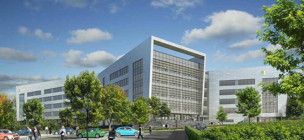 Microsoft Campus Leopardstown, due to open in 2017