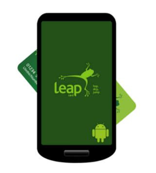 Leap Top-up App updated with new features
