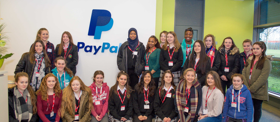 PayPal opens its doors to support Young Women in Technology