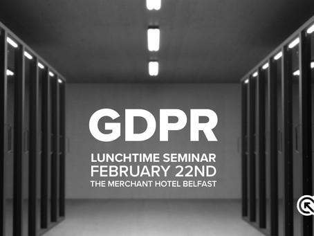 AMI to host GDPR Seminar in Belfast