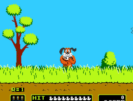 Duck Hunt comes to Wii U Virtual Console, like the Ghost of Christmas Past