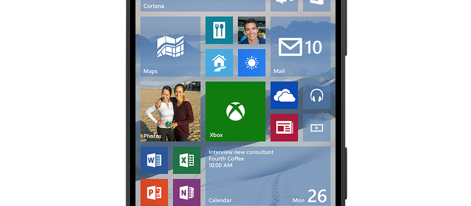The next Windows 10 on phone build will be here ... soon.