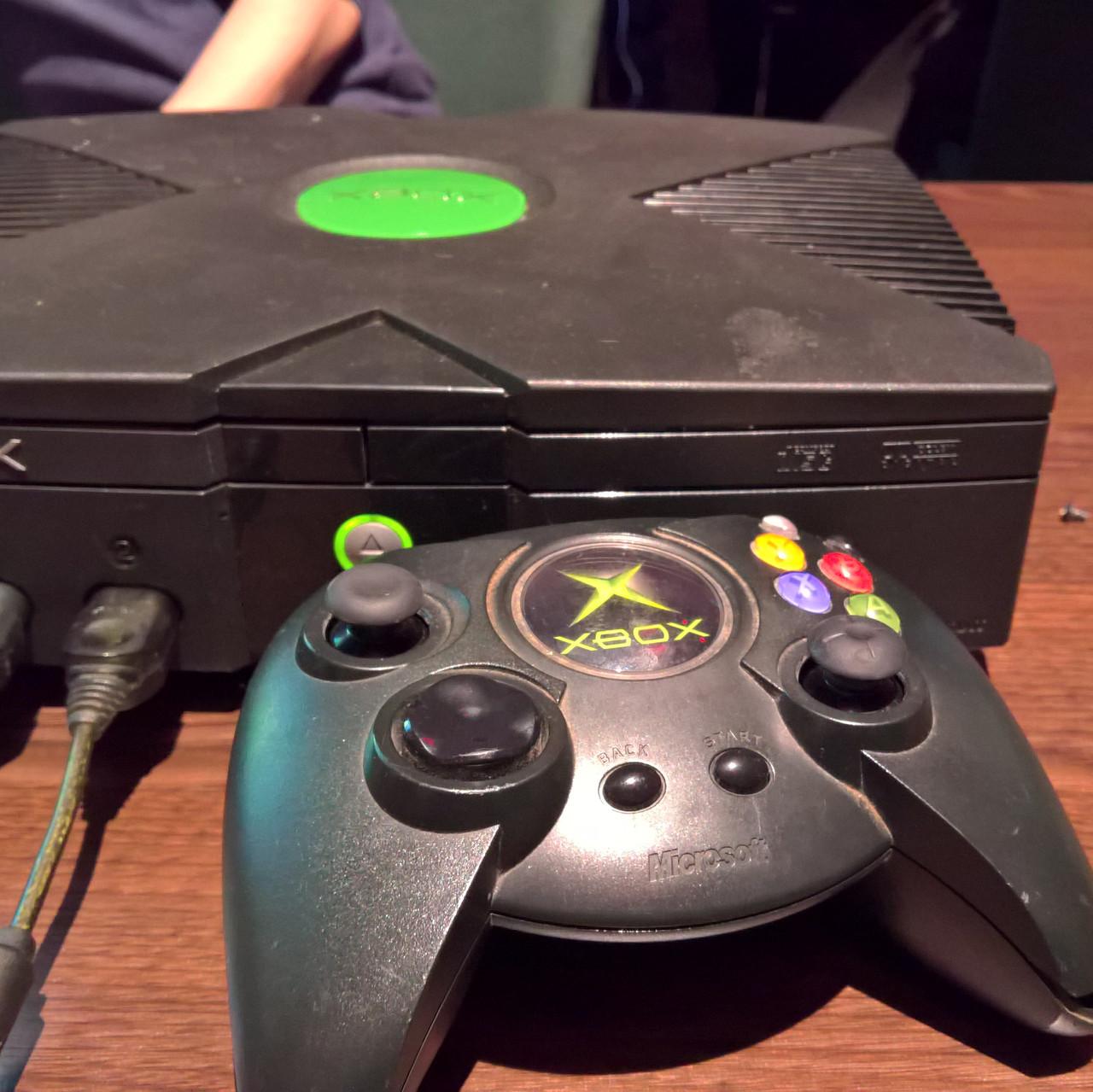 Original Xbox and Duke Controller