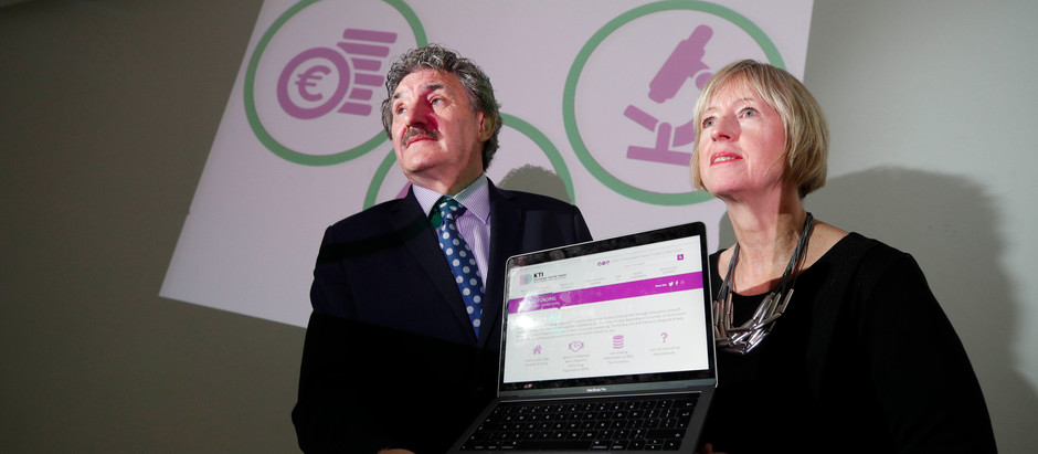 "Knowledge Transfer Ireland launches new ""Find Funding"" Tool"