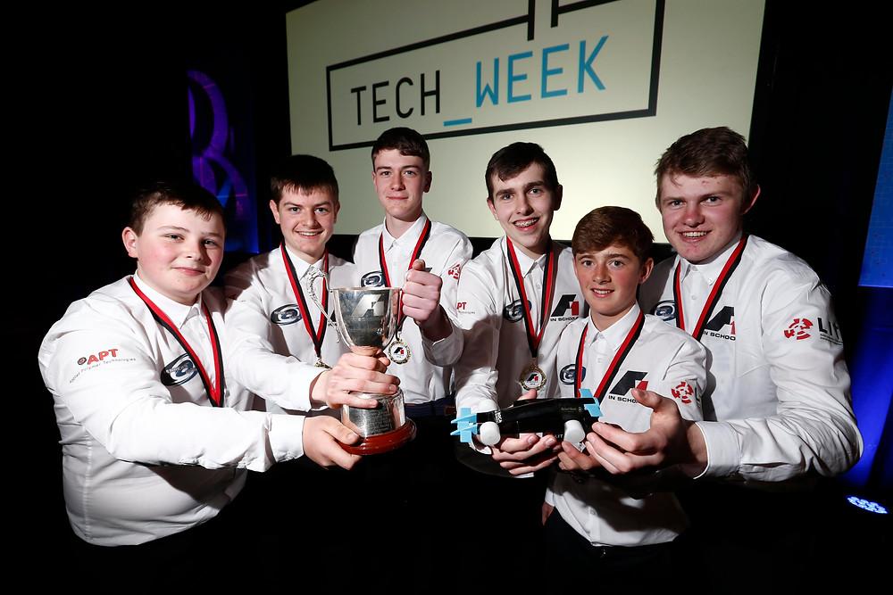 Hurricane Racing (L->R) Joe Reidy, Ciarán McDermott, Jamie McManus, Darren O'Hara Duggan, Tom O'Carroll, Cian McBrearty.
