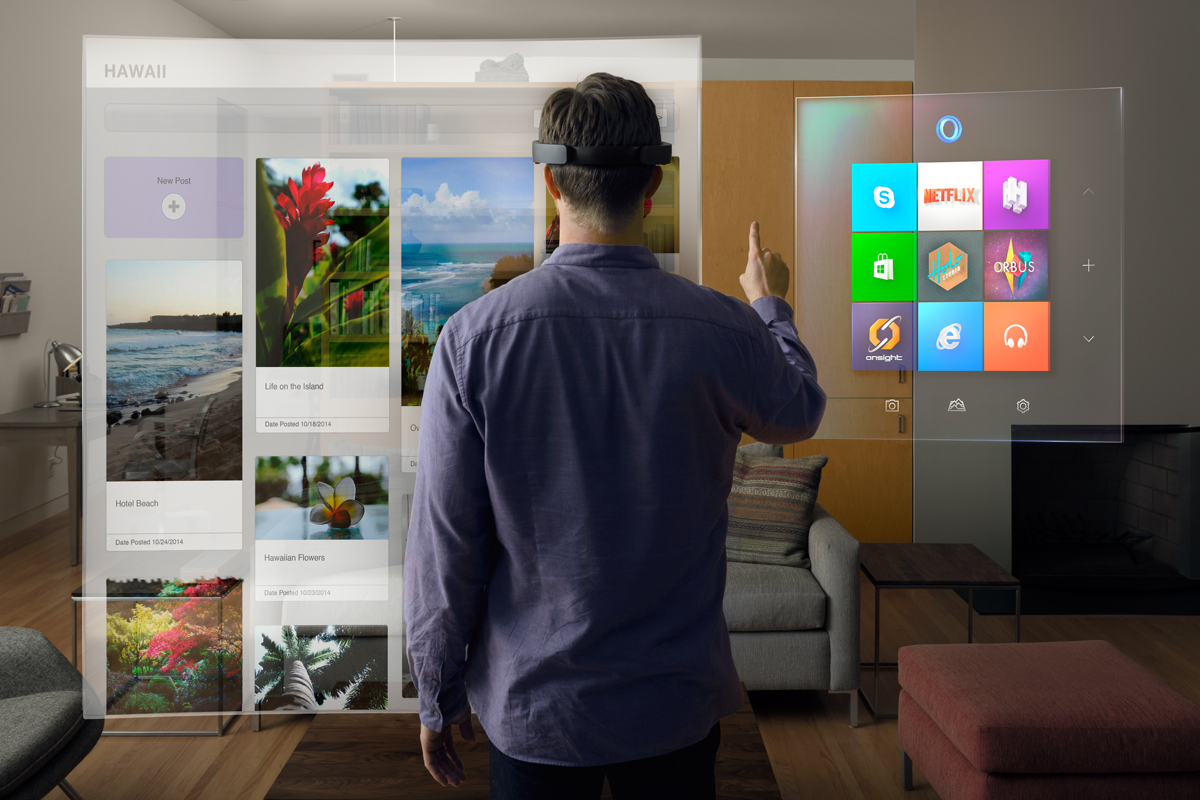 HoloLens Windows 10 Apps on your wal