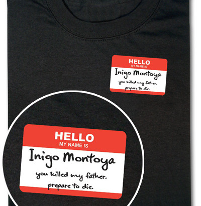 Geek Chic: More Princess Bride related goodness