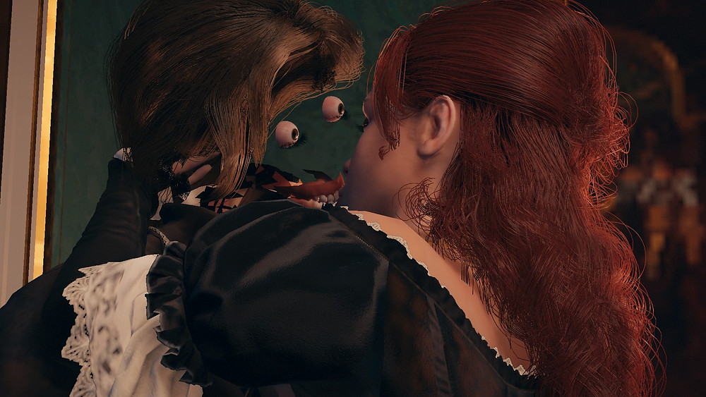 AC Unity Man without a face finds love