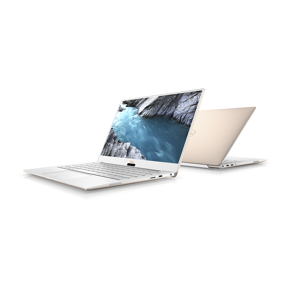 Dell XPS 13 (2018) - Alpine White and Rose Gold