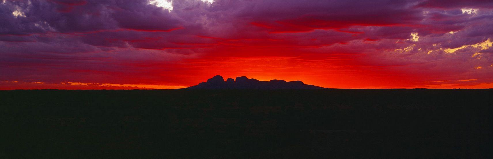 Kata Tjuta Sunset