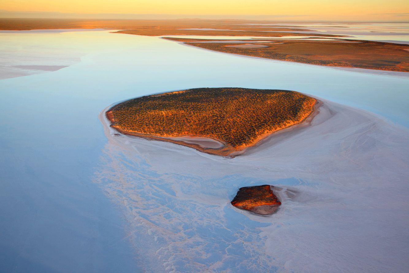 Island in Salt Dawn